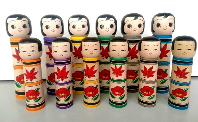 こけしとWooden Dolls 〜日本と西洋のクラフトマンシップ〜