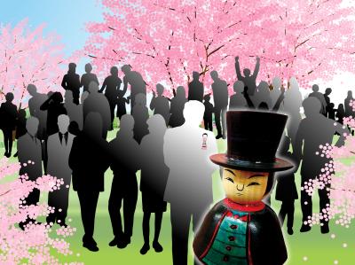 """こけし探偵season25~桜舞う!""""こけしを見る会""""への招待状~開催のお知らせ!"""